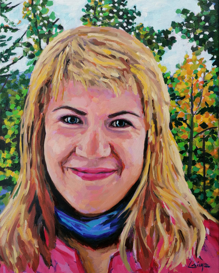Portrait of Melanie Grimm