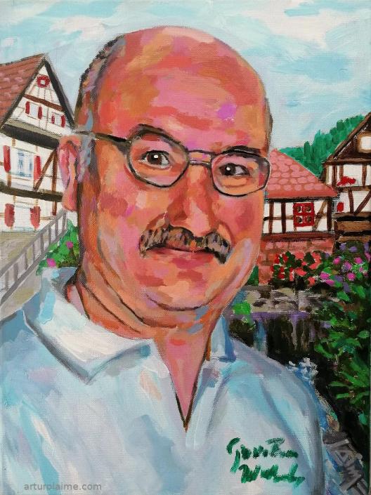 Portrait of Herbert Strack