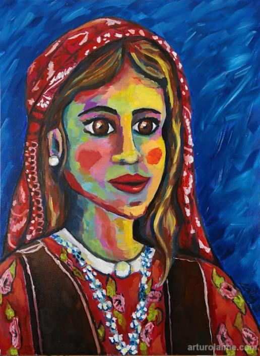Kurdish girl by Arturo Laime