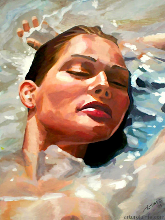 woman in water 720